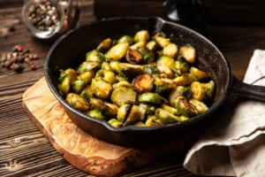 Brussel Sprouts are one of the best fall vegetables